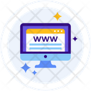 Website Access Icon