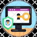 Website Security Website Access Web Key Icon