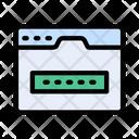 Password Security Code Icon
