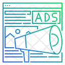 Website Advertising Icon