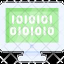 Website Algorithm Binary Binary Code Icon
