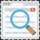Website Analysis Seo Icon