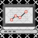 Web Analytics Website Statistics Data Analysis Icon