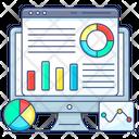 Online Analysis Website Analysis Online Analytics Icon