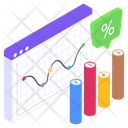 Online Statistics Web Statistics Web Infographics Icon