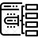 Website Architecture Organization Icon