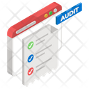 Website Audit Inspection Web Survey Icon