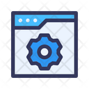 Website Backend Icon