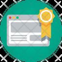 Website Badge Page Rank Badge Award Icon