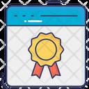 Website Badge Online Badge Web Badge Icon