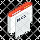Website Blog Icon