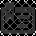 Website Bookmark Icon