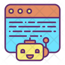 Website Bot Icon