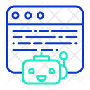 Ibot Website Website Bot Artificial Bot Icon