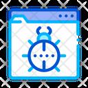 Website bug Icon