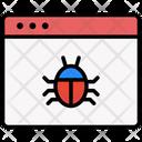 Website Bug Bug Webpage Icon