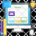 Web Design Website Tools Website Builder Icon