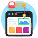 Web Design Website Interface Web Maintenance Icon