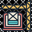 Website Builder Crane Icon