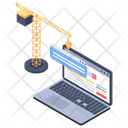 Website Building Icon