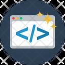 Website Code Website Code Icon