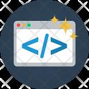 Website Code Data Icon