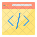Coding Website Coding Website Development Icon