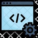 Website Coding Icon