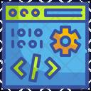 Website Coding Web Development Web Coding Icon