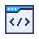 Website Coding Icon
