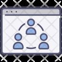Website community Icon