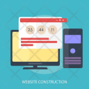 Website Construction Icon