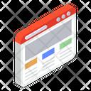 Website Content Icon