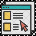 Website Window Internet Icon
