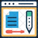 Web Content Script Icon