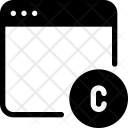 Website Copyright Icon