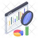 Website Data Analysis Icon
