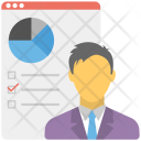 Website Data Analyst Icon