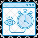 Website Browser Deadline Icon