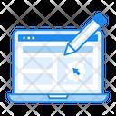 Website Layout Web Template Website Design Icon