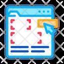 Editing Web Site Icon