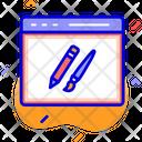 Website Design Design Development Icon