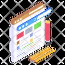 Web Layout Web Design Website Designing Icon