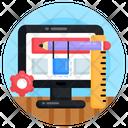 Web Interface Website Designing Web Settings Icon