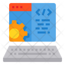 Web Browser Coding Icon