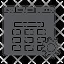 Website Setup Setting Icon