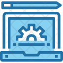Process Website Development Icon