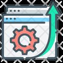 Website Development Gear Cogwheel Icon