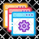 Web Site Settings Icon