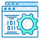 Website Development Website Optimization Gear Icon